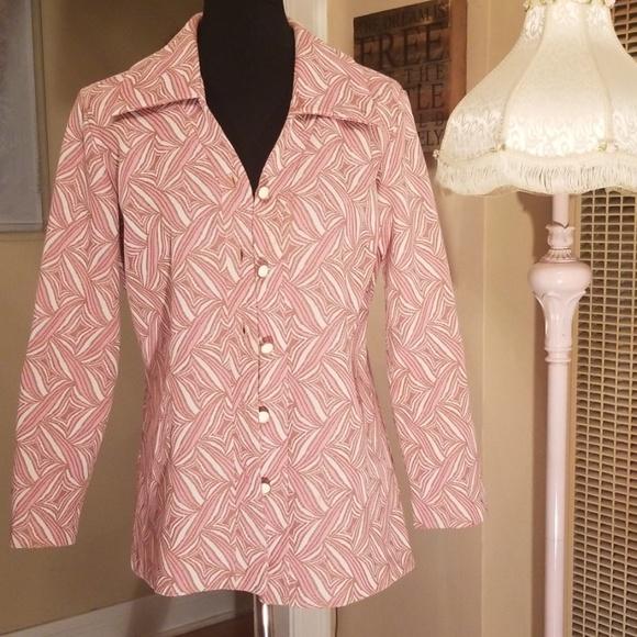 Vintage Jackets & Blazers - VTG Sears Fashions 60s/70s Funky Blazer